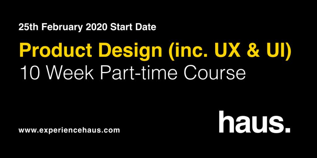 product design course ux ui