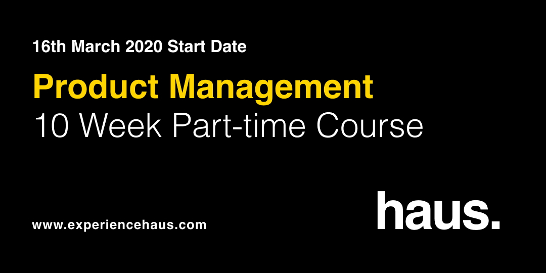 product management course experience haus
