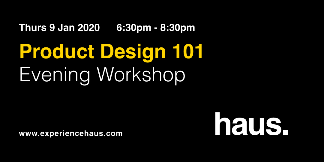 product design 101 experience haus