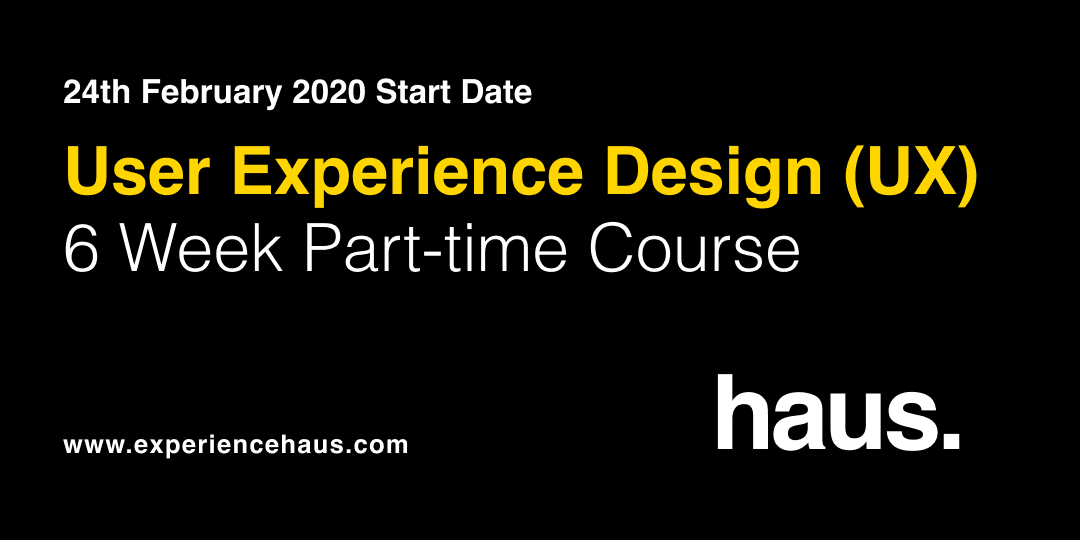 user experience design (UX) course