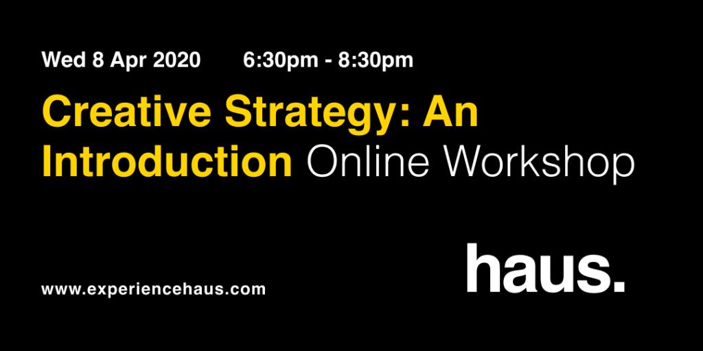 creative strategy workshop