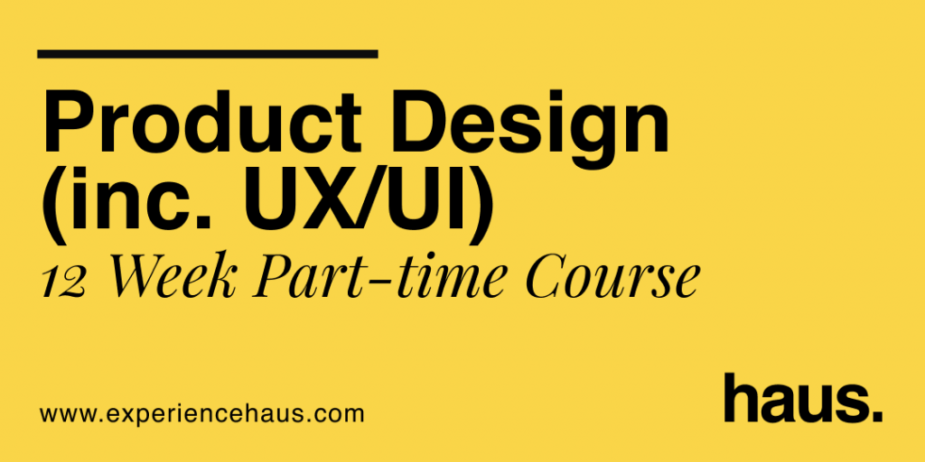 Product design course cover